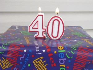 40 candles